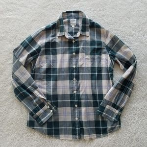 J. Crew Classic Button Down Shirt in Perfect Fit L